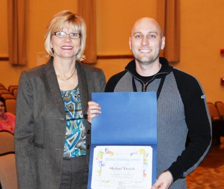 Global Thinking Award at EHS!!!