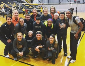 Volleyball advances to finals!