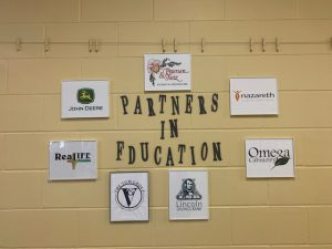 Partners in Ed Wall