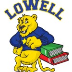 Lowell Cougar Logo