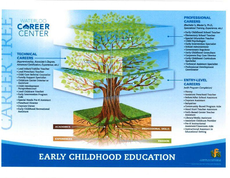 Early Childhood Education Career Tree