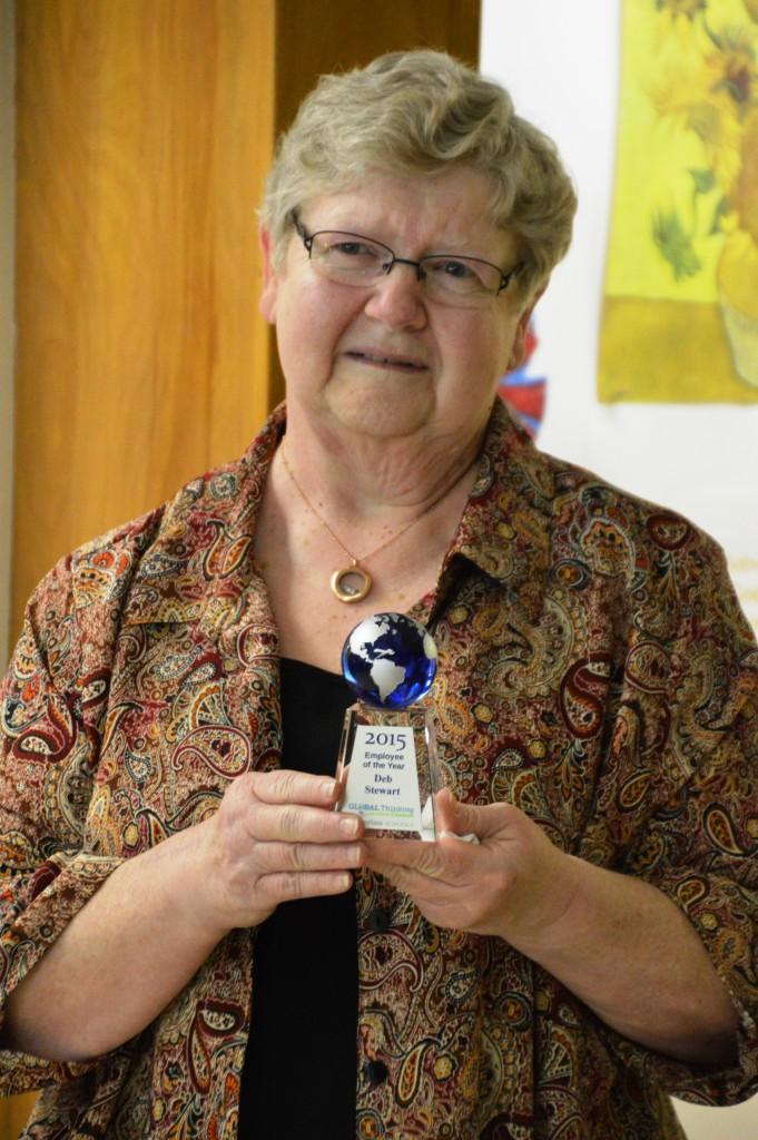 Deb Stewart Admin Professional of the Year