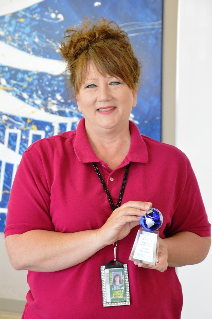 Janet Bessman Food Service Employee of the Year