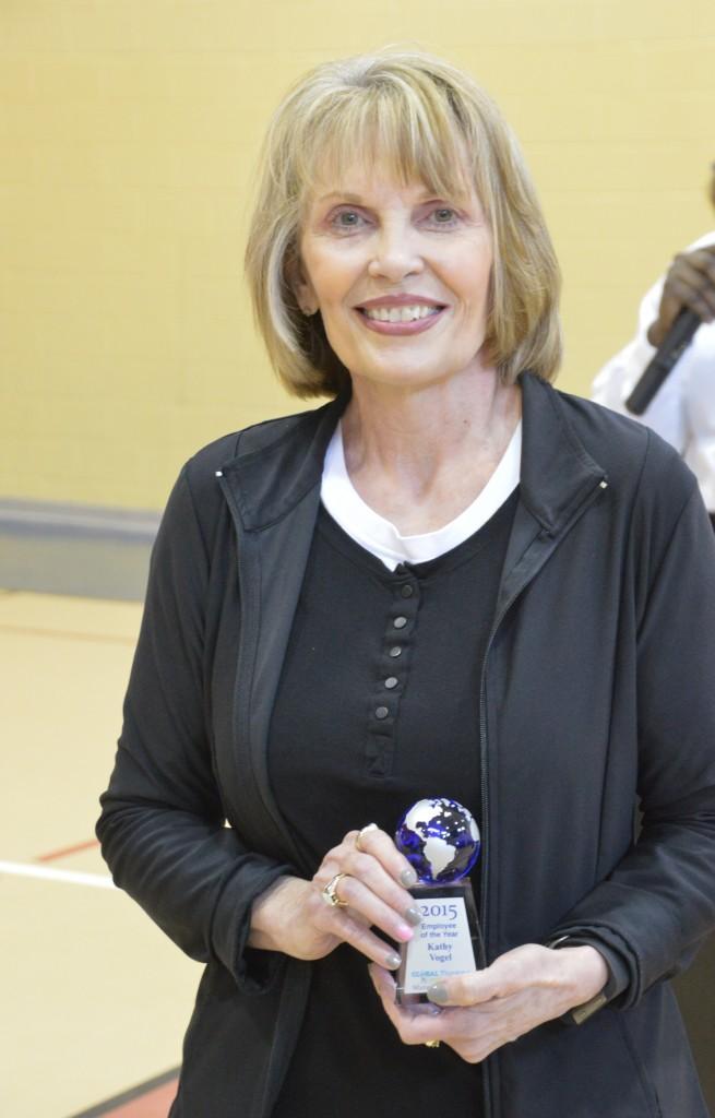 Kathy Vogel 2015 Teacher of the Year
